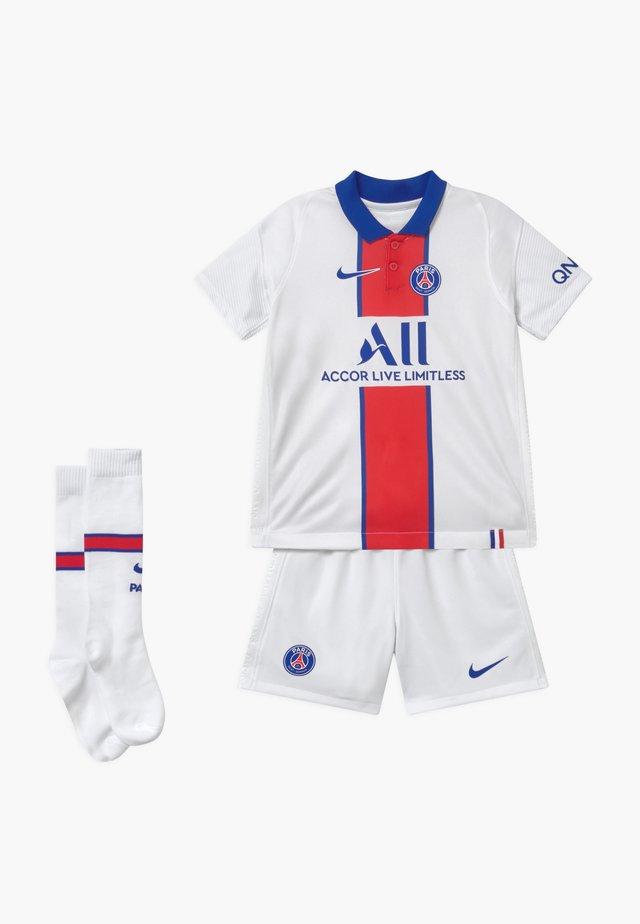 PARIS ST GERMAIN SET - Short de sport - white/old royal