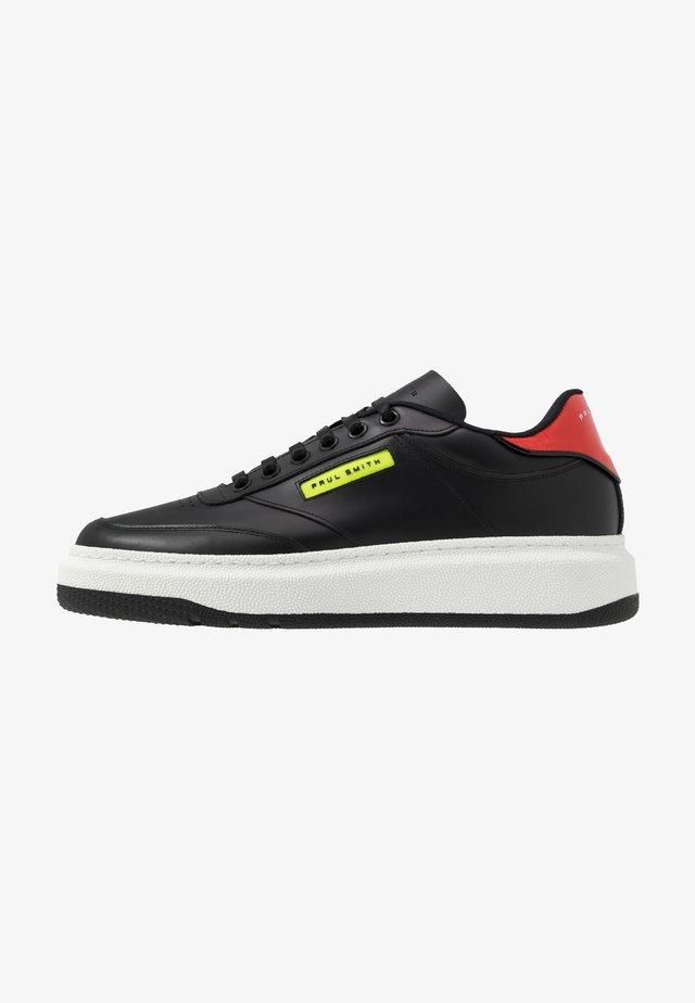 HACKNEY - Sneakers basse - black