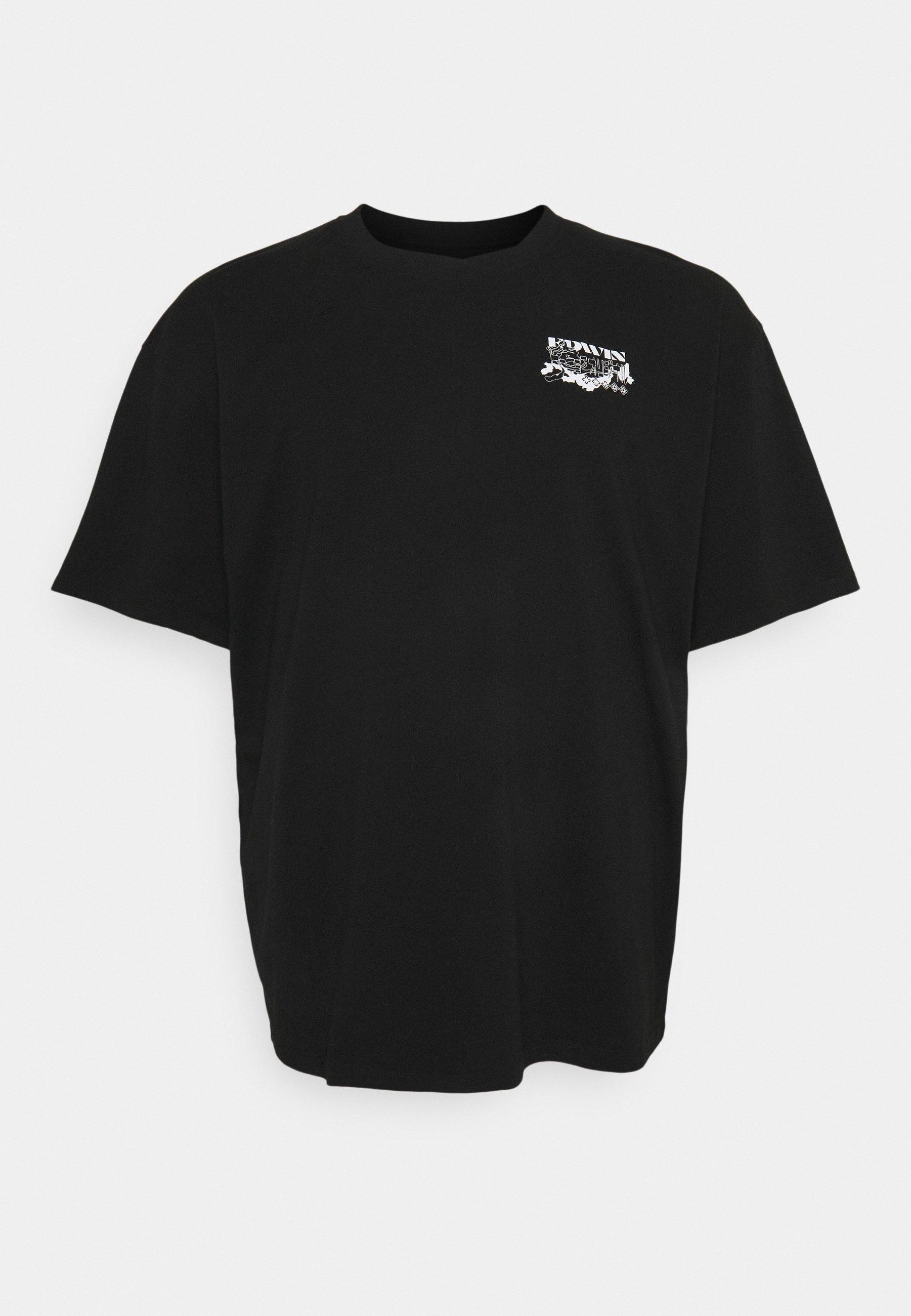 Homme LOGO MAP CHEST - T-shirt imprimé