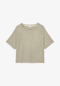 Marc O'Polo DENIM - RAGLAN - Print T-shirt - green - 5