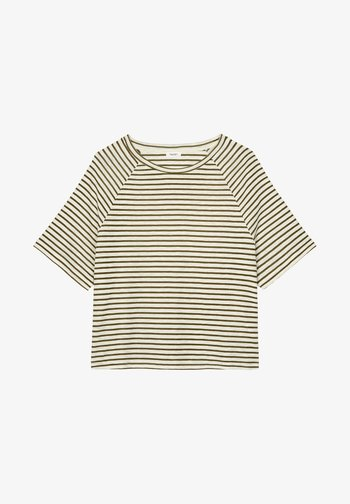 RAGLAN - Print T-shirt - green