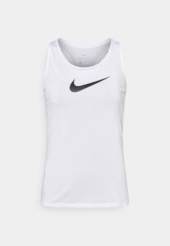 DRY BALANCE - Camiseta de deporte - white/black