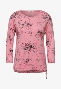 Cecil - MIT BLUMEN - Long sleeved top - rot - 3