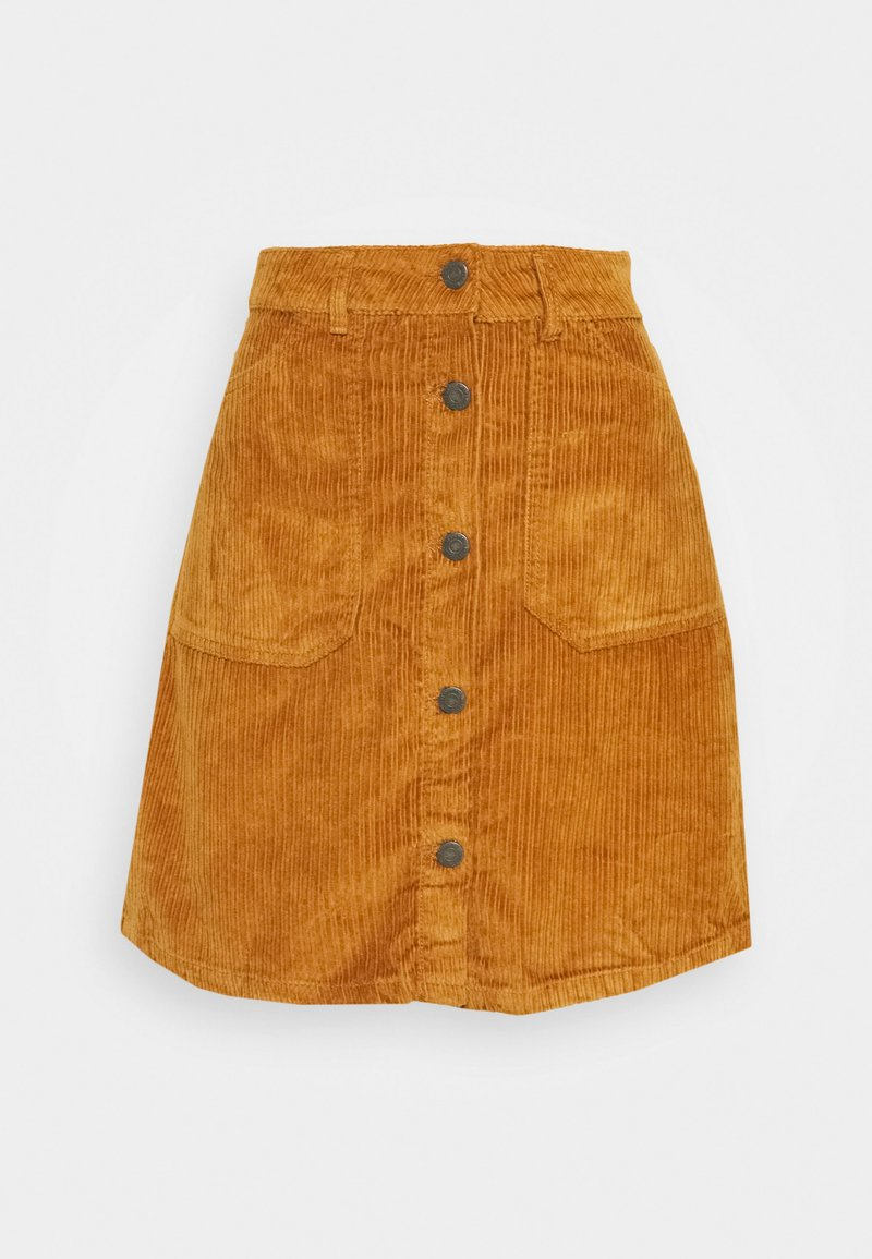 Noisy May Tall - NMSUNNY SHORT SKIRT - A-snit nederdel/ A-formede nederdele - brown sugar