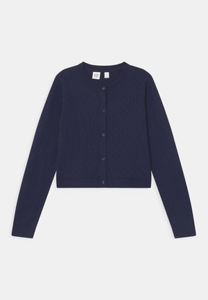 GIRL  - Strikjakke /Cardigans - navy uniform