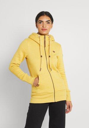 NESKA ZIP - Zip-up sweatshirt - honey