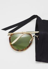 Gucci - Sunglasses - havana/gold-coloured/green - 2