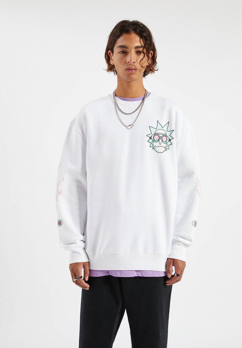 PULL&BEAR - Sweatshirt - white
