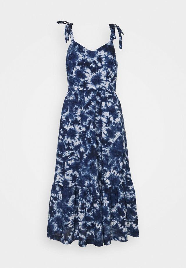 CAMI MIDI - Day dress - blue