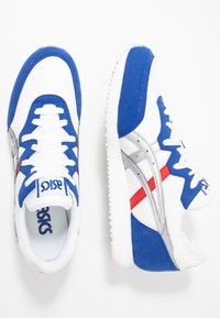 ASICS - TARTHER - Baskets basses - white/blue - 1