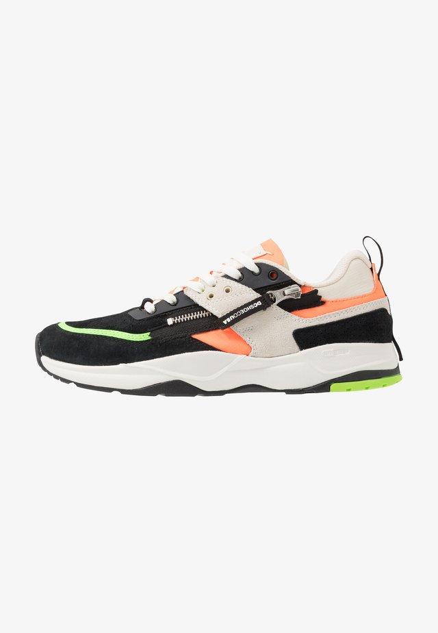 E.TRIBEKA ZIP - Sneakers basse - fluorescent/green/white