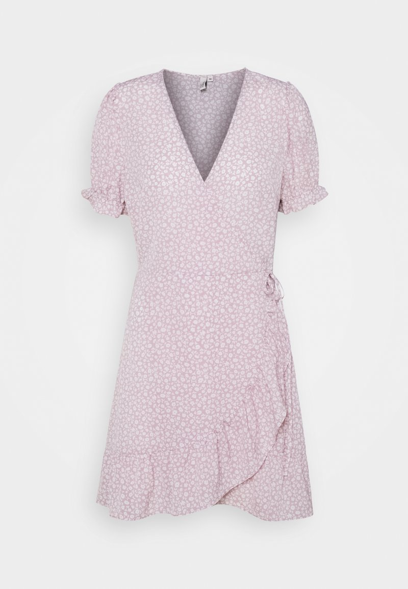 Nly by Nelly - PRINTED WRAP DRESS - Day dress - lilac floral