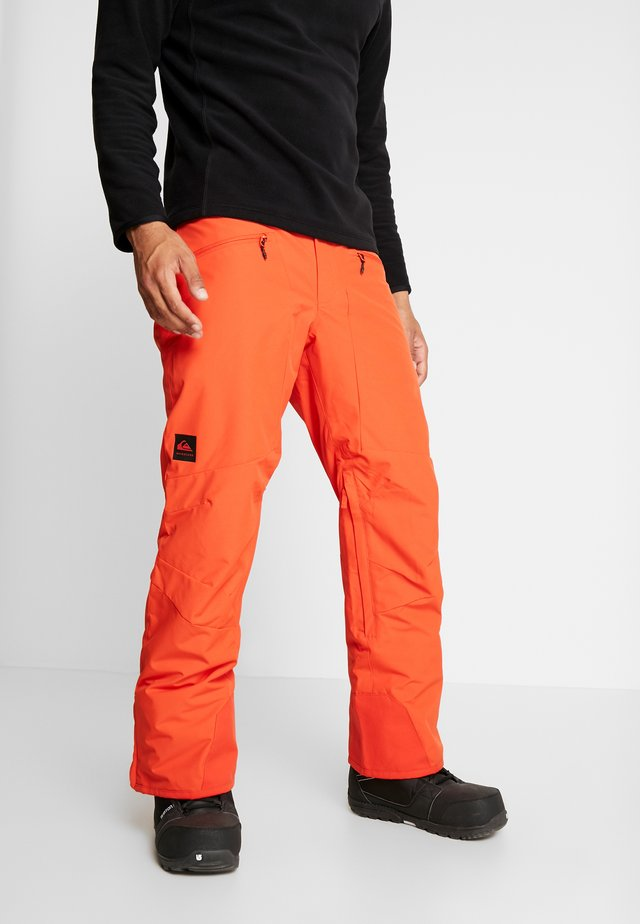 BOUNDRY - Snow pants - red