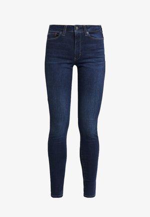 HIGH RISE SUPER SKINNY - Jeans Skinny Fit - hawaii darkk blue stretch