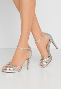 Steven New York - CACY - High heeled sandals - silver/gold - 0