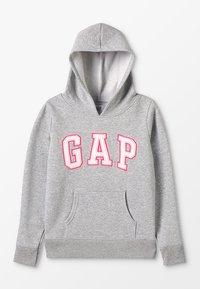 GAP - GIRLS ACTIVE LOGO HOOD - Hoodie - heather grey - 0