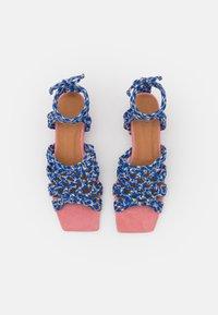 Toral - Sandals - azul/rosa/amarillo - 5