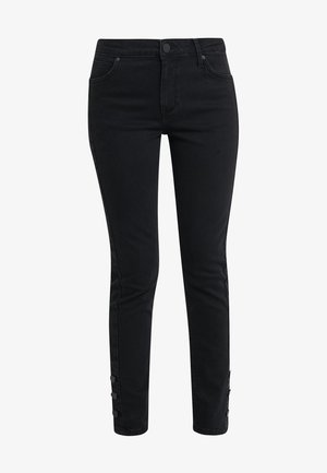 SALLY CROPPED ONYX - Jeans Skinny Fit - black denim