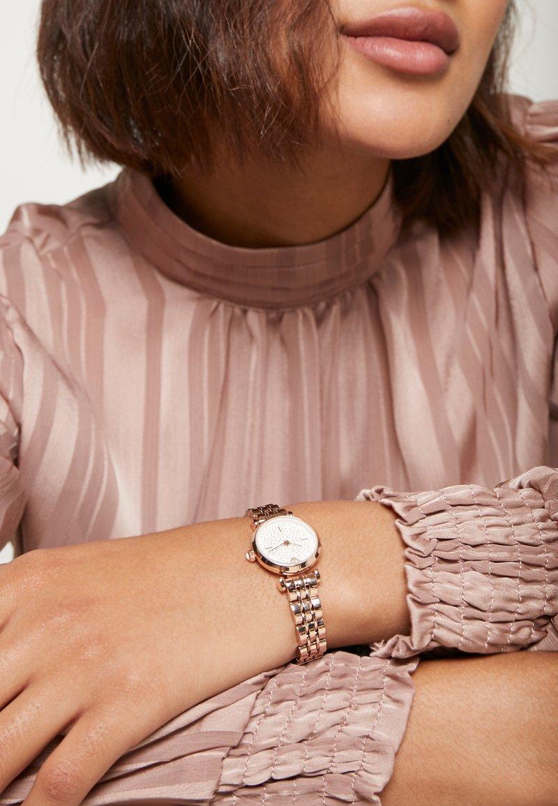 Emporio Armani - Klocka - rose gold-coloured