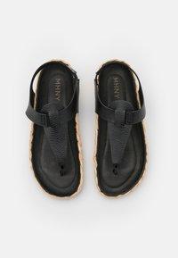MAHONY - T-bar sandals - black - 5