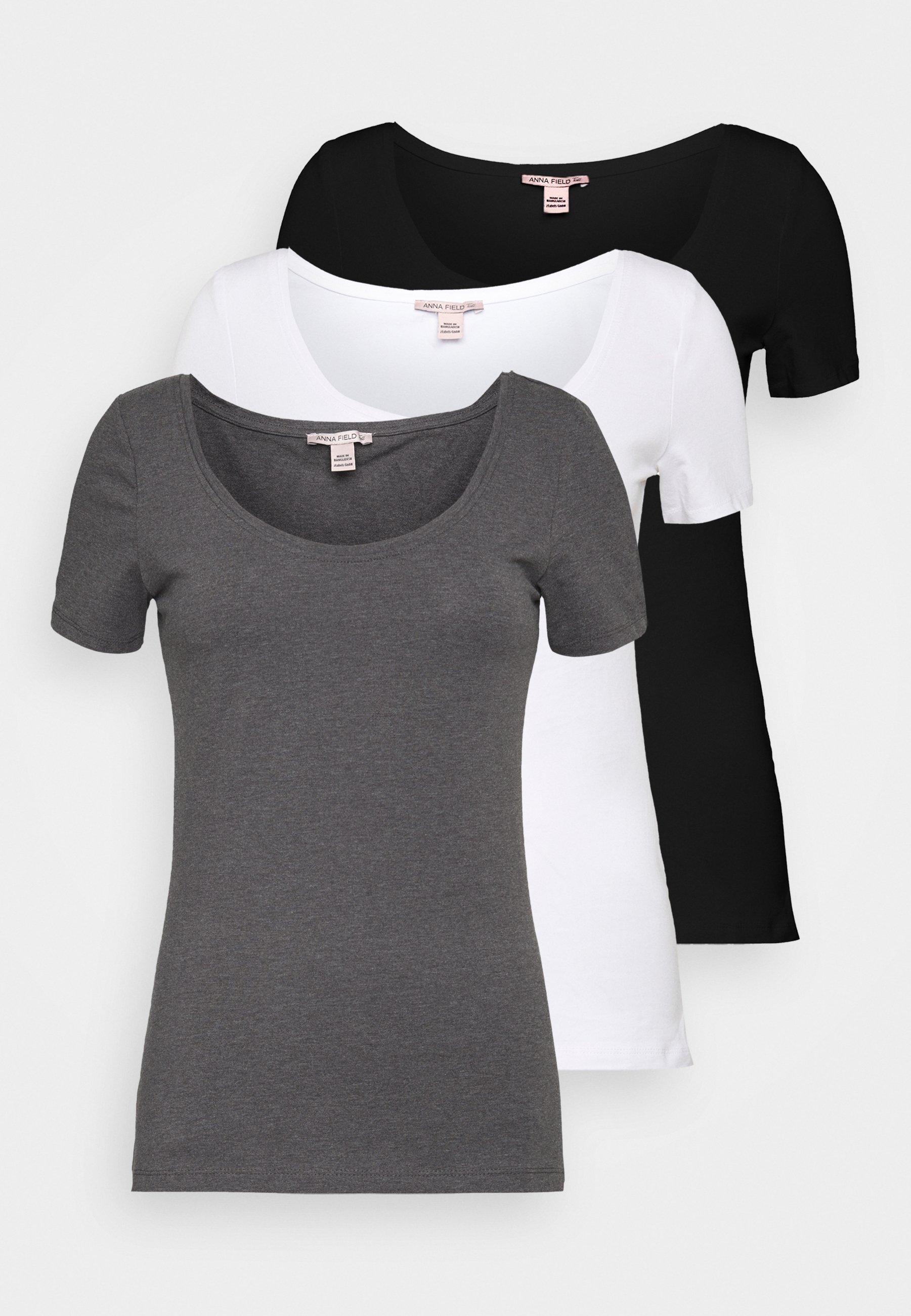 Women 3 PACK - Basic T-shirt