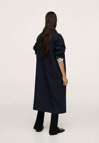 Mango - Classic coat - donkermarine - 1