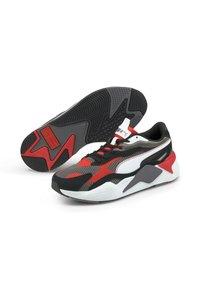 Puma - TWILL AIRMESH - Trainers - castlerock-poppy red - 1