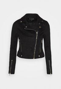 Miss Selfridge - BIKER - Summer jacket - black - 4
