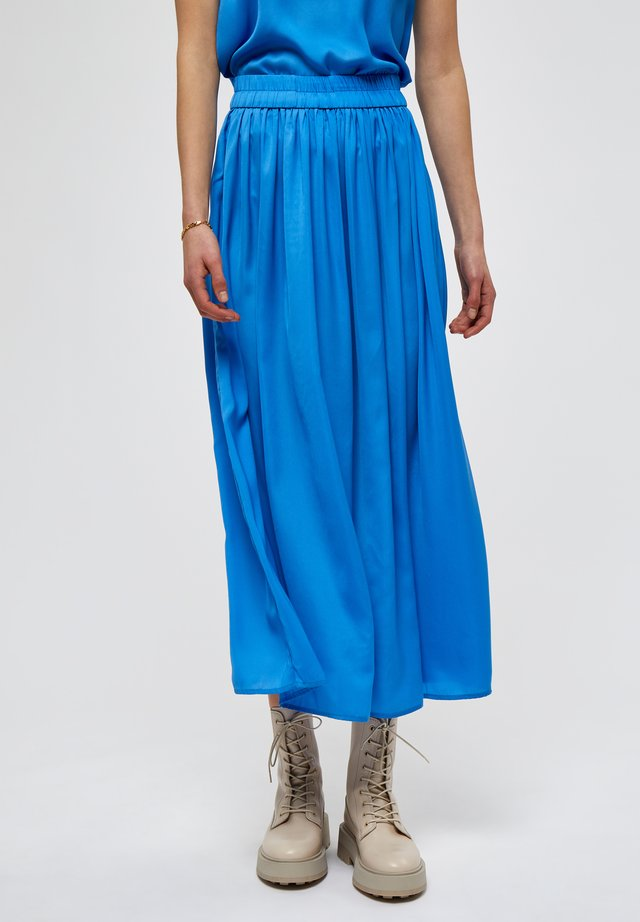 A-line skirt - french blue