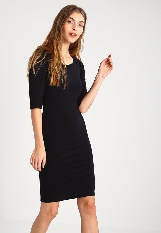 TANSY DRESS - Trikoomekko - black