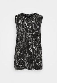 Esprit Collection - FLOWER - Blouse - black - 0