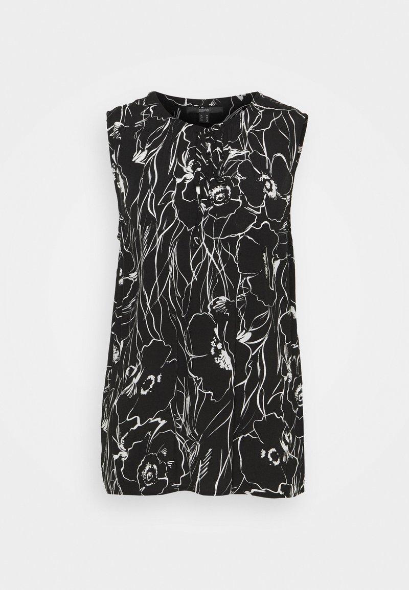 Esprit Collection - FLOWER - Blouse - black
