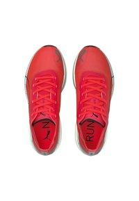Puma - LIBERATE NITRO - Competition running shoes - sunblaze puma white - 3