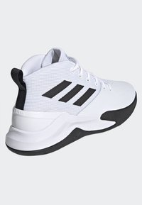 adidas Performance - OWN THE GAME SHOES - Basketball shoes - white/black - 3
