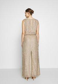 MANÉ - LAELIA DRESS - Suknia balowa - champagne/gold - 2