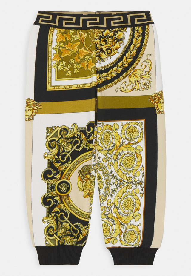 BAROQUE MOSAIC KIDS UNISEX - Broek - white/gold