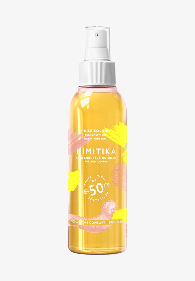 SPF 50 SUNSCREEN BODY OIL  - Solcreme - -