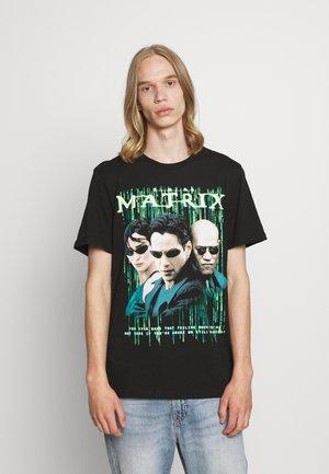 TV MOVIE - T-shirt con stampa - black