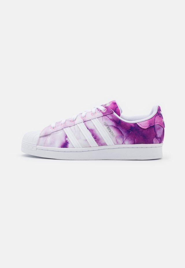 SUPERSTAR SHOES - Baskets basses - ultra purple/ftwr white/true pink