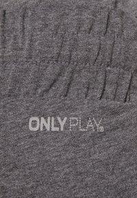 ONLY Play - ONPJULITTA LOOSE PANTS - Pantalones deportivos - medium grey melange - 5
