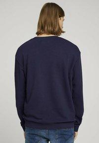 TOM TAILOR DENIM - Sweater - sky captain blue - 2