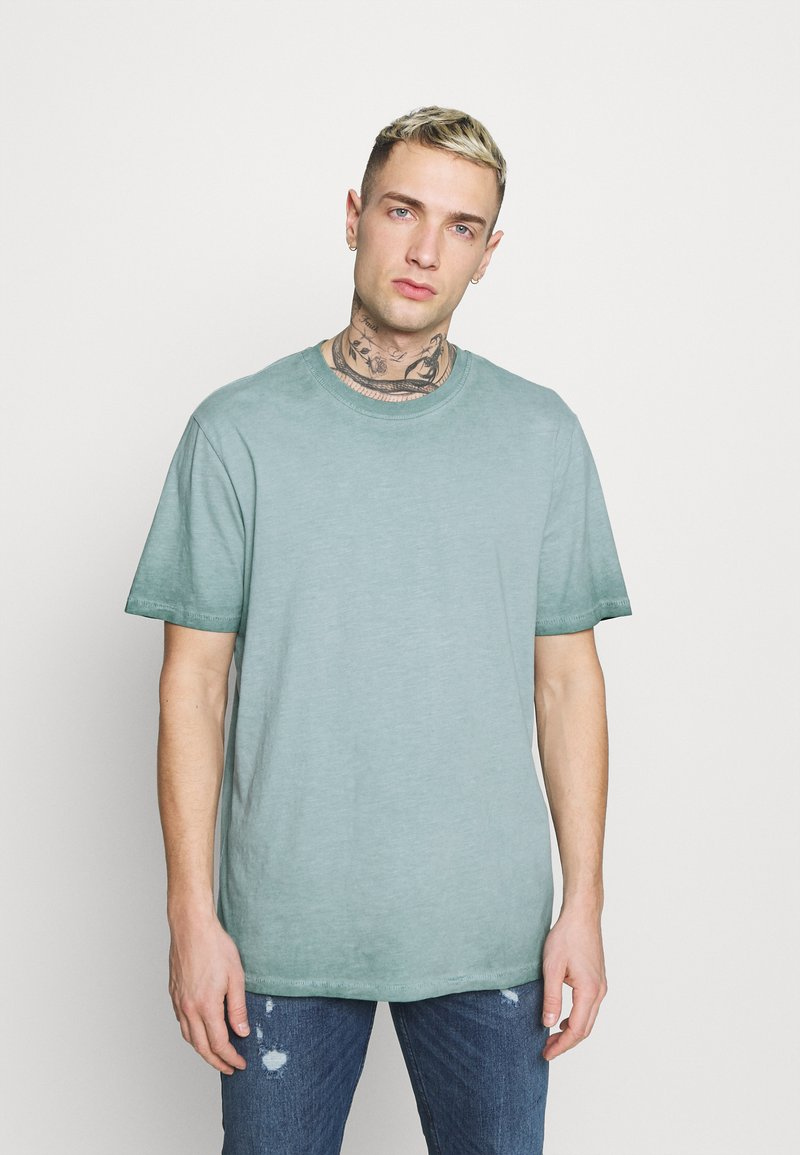 Only & Sons - ONSMILLENIUM LIFE  - T-shirt - bas - silver blue