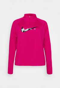 Nike Performance - RUN MIDLAYER PLUS - Sports shirt - fireberry/black - 0