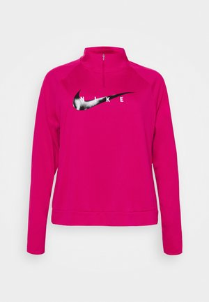RUN MIDLAYER PLUS - Camiseta de deporte - fireberry/black