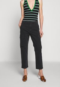 Citizens of Humanity - GAIA PANT - Trousers - black - 0