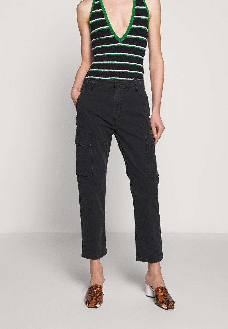 Citizens of Humanity - GAIA PANT - Trousers - black