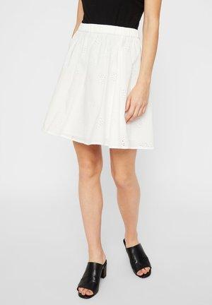 SKATER - A-line skirt - cloud dancer