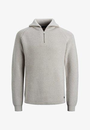 HALBREISSVERSCHLUSS - Jersey de punto - cool grey