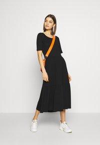 JDY - JDYDALILA FROSTY - Jersey dress - black - 1