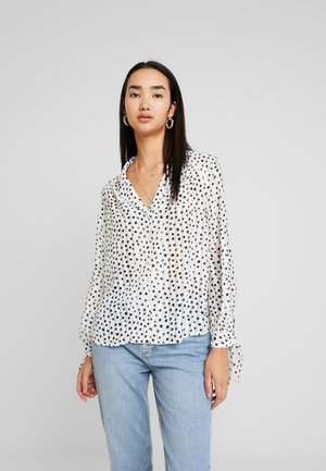 SELF STRIPE SPOT - Camicia - ivory